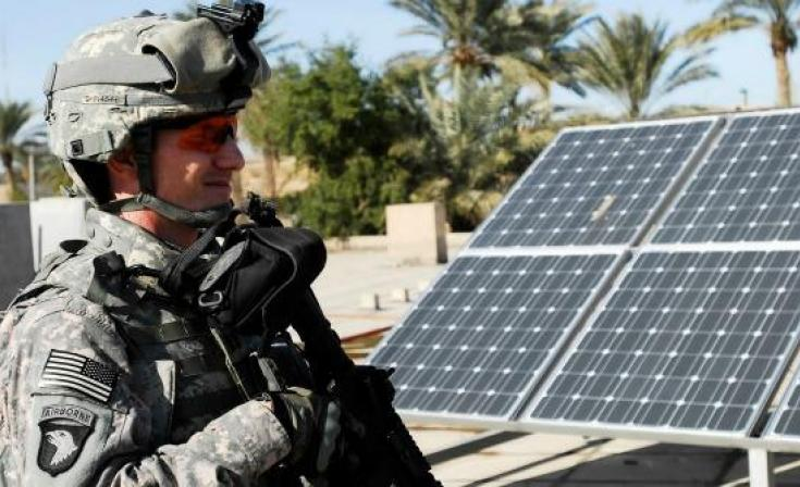 The Military Goes Green