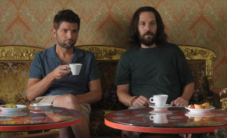 Adam Scott & Paul Rudd in Our Idiot Brother