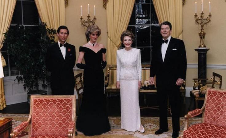 The Prince & Diana, and Nancy & Ronald Reagan