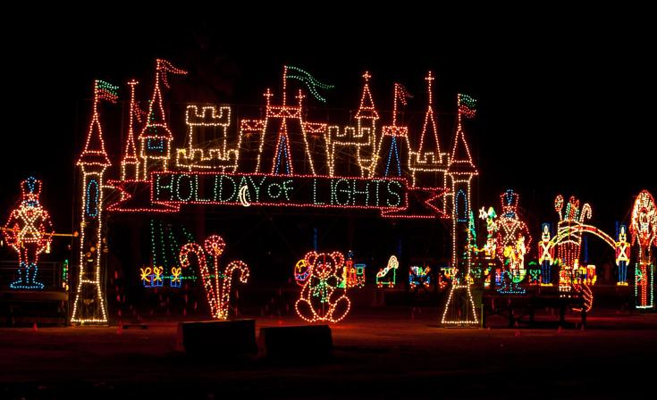 The Holiday of Lights at the Del Mar Fairgrounds