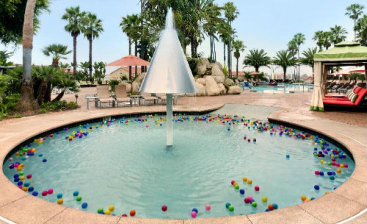 Hilton San Diego Resort and Spa Kiddie Pool