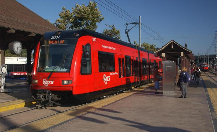 MTS S70 Trolley: Old Town