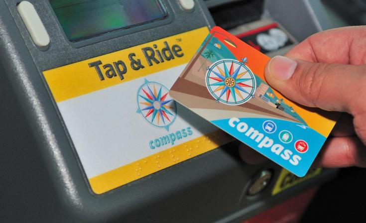 Compass Card Tap: Bus