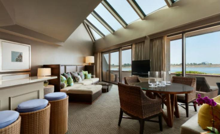 Hilton San Diego Resort and Spa Presidential Suite