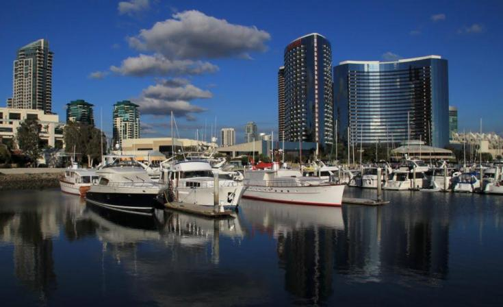 San Diego Marriot Marquis and Marina