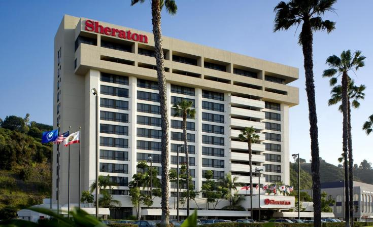 Sheraton Mission Valley Hotel Front