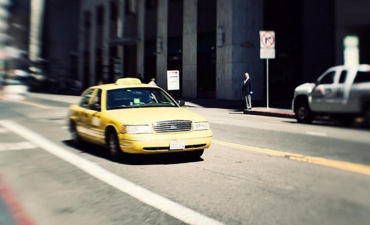 Yellow Cab of San Diego taxi