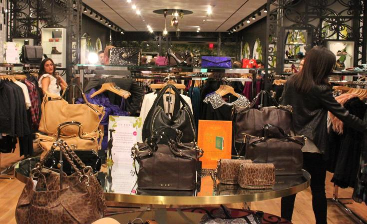 Ted Baker store Fashion Valley