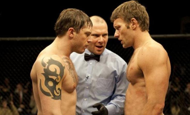 Joel Edgerton & Tom Hardy in Warrior