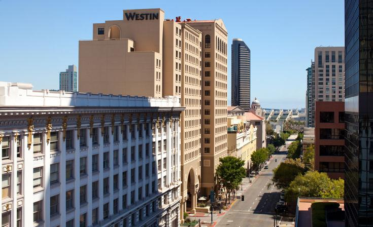 The Westin Gaslamp Quarter Hotel Exterior First Avenue