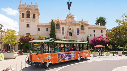 Old Town Trolley San Diego