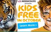 San Diego Zoo Kids Free in October