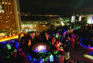 Marriott Gaslamp's Bottom's Up NYE Celebration!