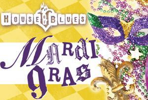 Mardi Gras at House of Blues